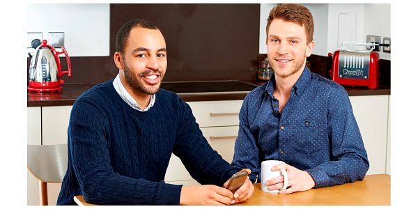 Ideal Flatmate Founders - Robert Imonikhe and Tom Gatzen