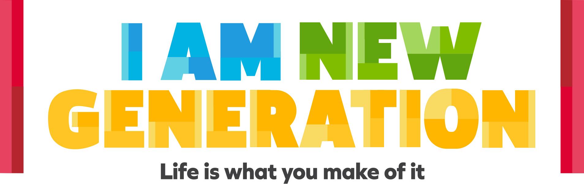 I am new generation magazine celebrating youth for New generation
